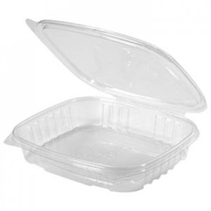 Crystal Seal 16OZ Shallow w / flat lid (200 / cs)