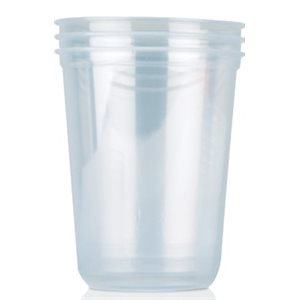 Deli Container 32 OZ Hoffman Clear Round (500 / cs)