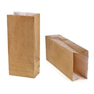 Paper French Fry Bag Doubled No. 1 (3.5 x 2.18 x 6.75) (250 / Pqt)