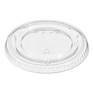 Portion Cup Lid Clear 1 Oz (2500 / cs)