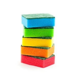 Sponges Different Colors (10 / Pqt)