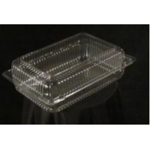 Corner Lock Plastic Container Deep VP69 (400 / cs)